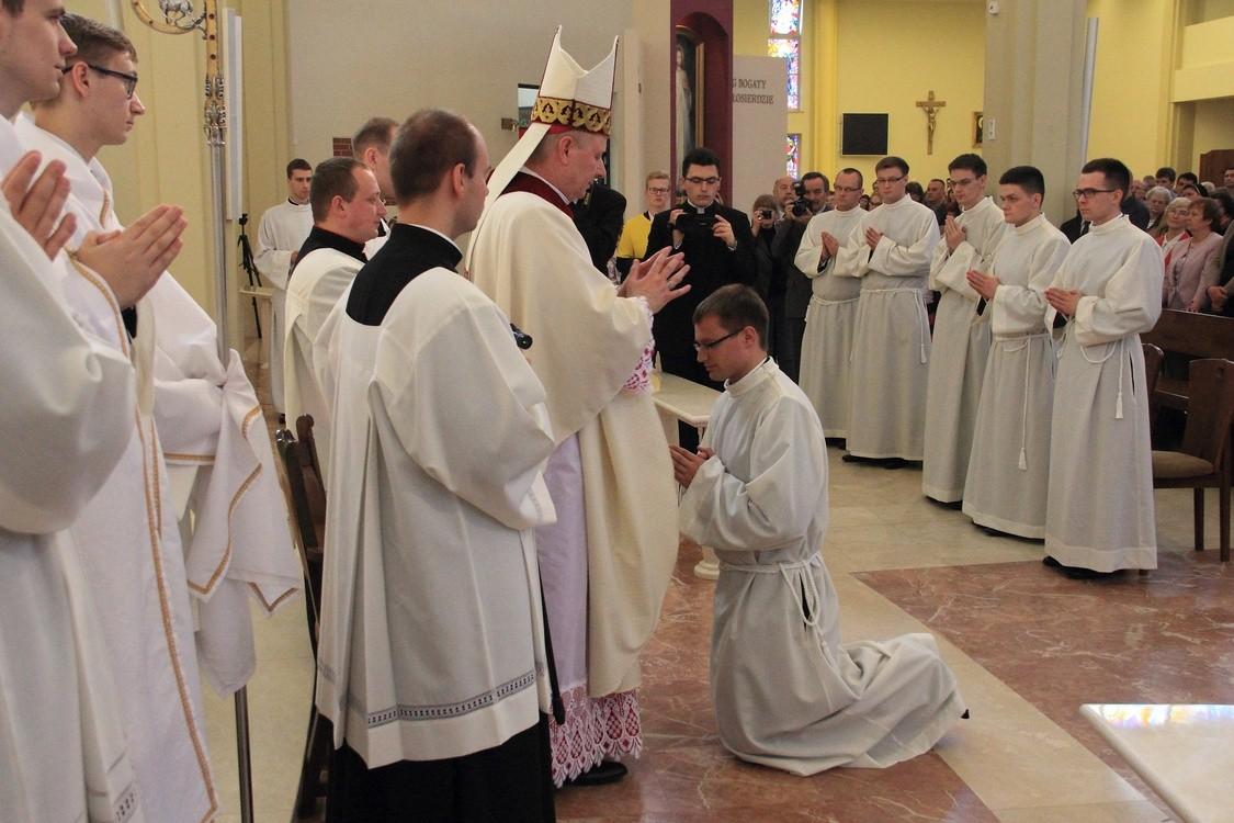 Już w sobotę święcenia diakonatu